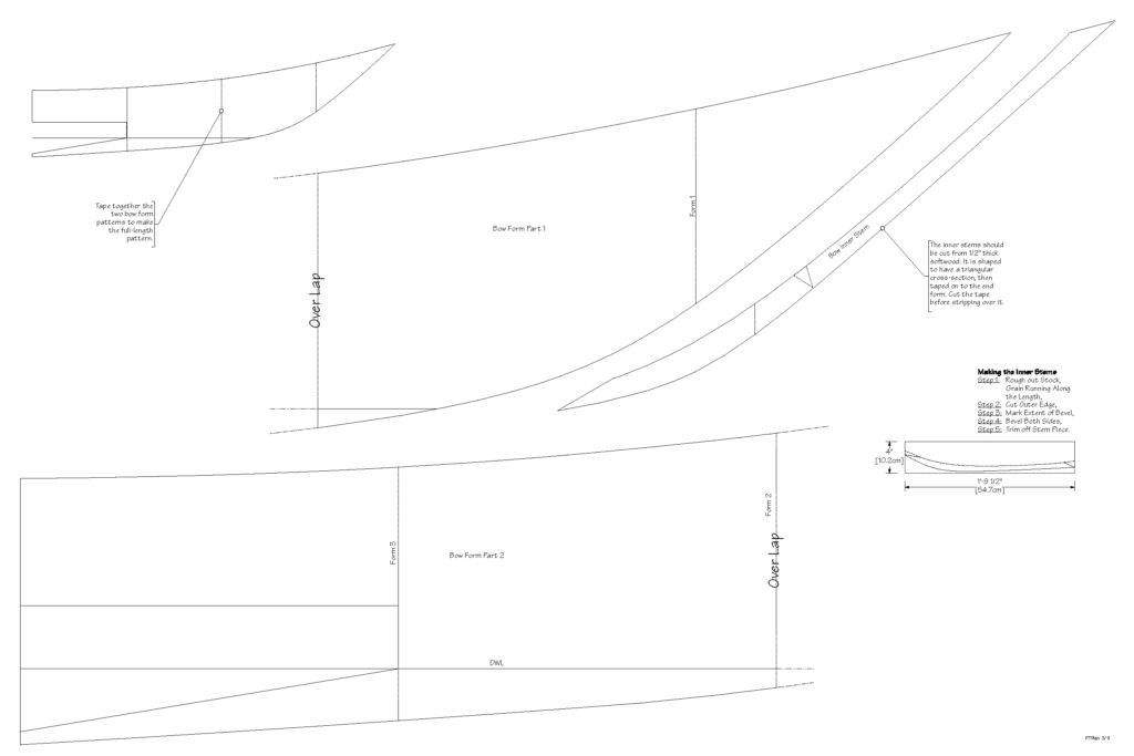 Petrel Sea Kayak Plans Page 3