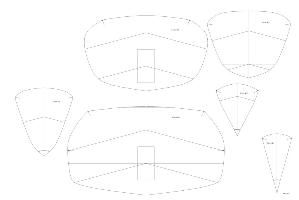 Petrel Sea Kayak Plans Page 7